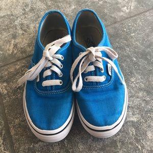 Vans Blue Boys Sz 2.5